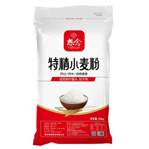 想念特精小麦粉 25kg